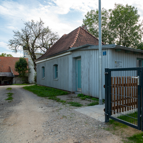 derzeit noch Sitz des Bürgerbüros bis zur Fertigstellung des Neubaus des Rathauses